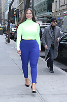 NEW YORK, NY - January 09: Ashley Graham seen leaving NBC's Today Show in New York City on January 09, 2019. Credit: RW/MediaPunch
