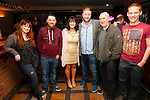 Pictured at the fundraiser for the Fleadh Cheoil Chiarraí 2015 in The Kerry Coast Hotel Cahersiveen on Sunday night were l-r; Linda O'Shea, Alan Murphy, Lisa O'Shea, Fred Cooke(comedian), Paddy Coffey & Paul Clifford.