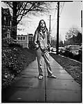 Large format portrait of Kevin Robinson<br /> Washington, D.C.