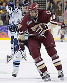 Billy Ryan, Brian Boyle - The Boston College Eagles defeated the University of Maine Black Bears 4-1 in the Hockey East Semi-Final at the TD Banknorth Garden on Friday, March 17, 2006.