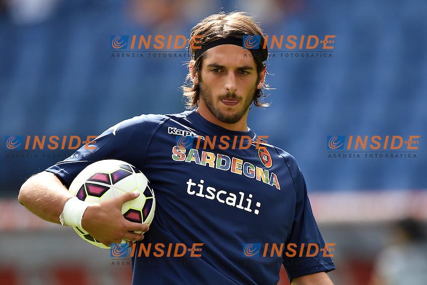 Simone Colombi Cagliari <br /> Roma 21-09-2014 Stadio Olimpico, Football Calcio Serie A AS Roma - Cagliari. Foto Andrea Staccioli / Insidefoto