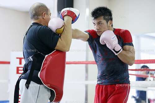 Ryota Murata, August, 2013 - Boxing : Ryota Murata of Japan official practice session at Teiken boxing gym, Tokyo, Japan. (Photo by Yusuke Nakanishi/AFLO SPORT)