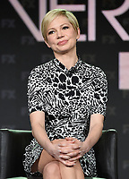 PASADENA, CA - FEBRUARY 4: EP/Cast Member Michelle Williams during the FOSSE / VERDON panel for the 2019 FX Networks Television Critics Association Winter Press Tour at The Langham Huntington Hotel on February 4, 2019 in Pasadena, California. (Photo by Frank Micelotta/FX/PictureGroup)