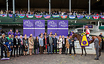 November 2, 2018: Connections for Newspaperofrecord #6 on Breeders' Cup World Championship Friday at Churchill Downs on November 2, 2018 in Louisville, Kentucky. Bill Denver/Eclipse Sportswire/CSM