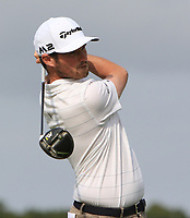 Cormac Sharvin (IRL) on the 5th tee during Round 1 of the Bridgestone Challenge 2017 at the Luton Hoo Hotel Golf &amp; Spa, Luton, Bedfordshire, England. 07/09/2017<br /> Picture: Golffile   Thos Caffrey<br /> <br /> <br /> All photo usage must carry mandatory copyright credit     (&copy; Golffile   Thos Caffrey)