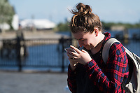 2016 07 13 People play Pokemon Go in Cardiff Bay, Wales, UK
