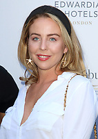 Lydia Bright at the Bloomsbury Street Kitchen Restaurant Launch Party in London on August 8th 2019<br /> CAP/ROS<br /> ©ROS/Capital Pictures