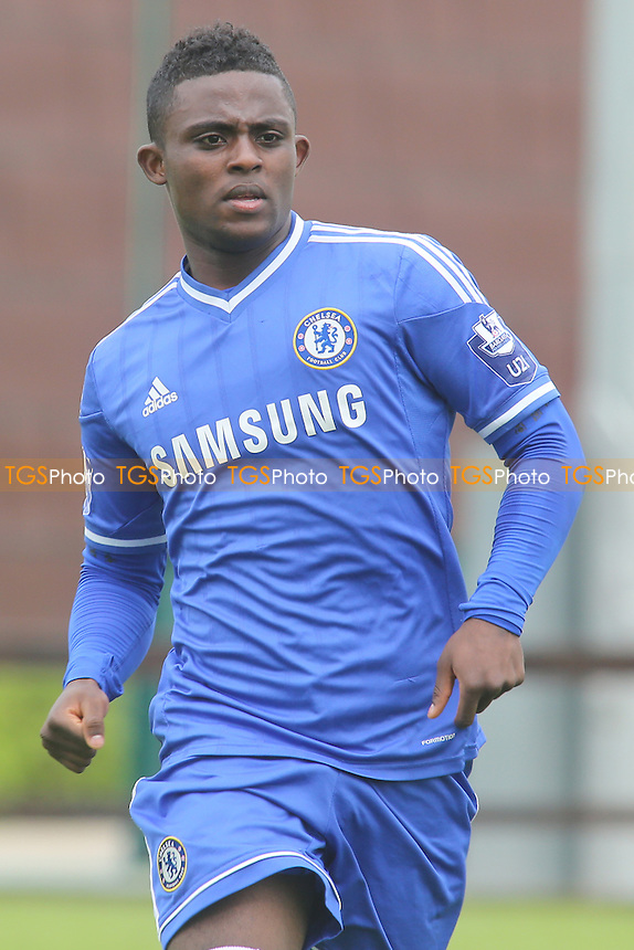 Islam Feruz of Chelsea - Chelsea Under-19 vs FC Basel Under-19 - UEFA Youth League Football at Chelsea FC Cobham Training Ground, Surrey - 18/09/13 - MANDATORY CREDIT: Paul Dennis/TGSPHOTO - Self billing applies where appropriate - 0845 094 6026 - contact@tgsphoto.co.uk - NO UNPAID USE