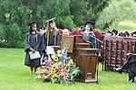 Presenting Senior Class Gift<br /> Vassar College Commencement '09<br /> (Teresa Maria Del Carmen, Christina C. Perry, Shari Elizabeth Sampson)