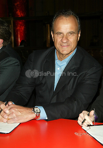 """Joe Torre attending the event celebrating the arrival of FUSION, Gillette's Newest Razor on store shelves and Kick Off the Ten-City """"Face of Fusion"""" casting call tour. Event held at Cipriani on Esat 42 Street in New York City. February 7, 2006 © Marzullo/MediaPunch."""