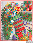 Ingrid, CHRISTMAS SYMBOLS, WEIHNACHTEN SYMBOLE, NAVIDAD SÍMBOLOS, paintings+++++,USISMC31S,#XX# vintage