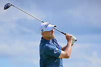 Bill Haas (USA) watches his tee shot on 7 during Sunday's round 4 of the 117th U.S. Open, at Erin Hills, Erin, Wisconsin. 6/18/2017.<br /> Picture: Golffile | Ken Murray<br /> <br /> <br /> All photo usage must carry mandatory copyright credit (&copy; Golffile | Ken Murray)