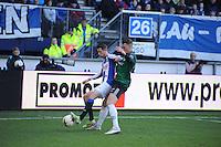 VOETBAL: HEERENVEEN: Abe Lenstra Stadion, 22-02-2015, Eredivisie, sc Heerenveen - FC Groningen, Eindstand: 3-1, Mark Uth, ©foto Martin de Jong