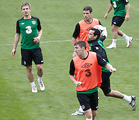 POLAND - Gdynia - 07 JUNE 2012 - Republic of Ireland Training Session at Gdynia.