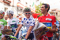 Alberto Contador winner of Tour of Spain 2012