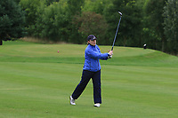 Emily Donohue (Tullamore) on the 1st fairway during the Final round of the Irish Mixed Foursomes Leinster Final at Millicent Golf Club, Clane, Co. Kildare. 06/08/2017<br /> Picture: Golffile | Thos Caffrey<br /> <br /> <br /> All photo usage must carry mandatory copyright credit      (&copy; Golffile | Thos Caffrey)