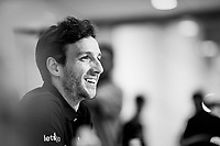 Adam Yates (GBR/Mitchelton-Scott) at the Team Mitchelton-Scott press conference 1 day ahead of the 106th Tour de France 2019 (2.UWT) 'Grand Départ' in Brussels<br /> <br /> ©kramon