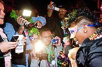 Mardi Gras: Bourbon Street