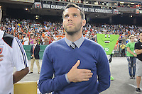 DC United Head Coach Ben Olsen.  The Houston Dynamo defeated DC United 3-1, at RFK Stadium, Saturday September 25, 2010.