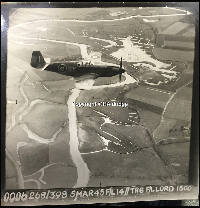 BNPS.co.uk (01202 558833)<br /> Pic: HAldridge/BNPS<br /> <br /> A Spitfire pilot's own snaps of some of the Nazi's most notorious murderers after they were detained for their horrific war crimes have been found in an old suitcase.<br /> <br /> RAF Officer Keith Parfitt took his own photos of the monsters, who included Franz Hossler, a commander at Aushwitz concentration camp and then deputy commandant of Burgen-Belsen, and Irma Grese, the so-called 'Bitch of Belsen'.<br /> <br /> The pictures have been discovered in an old case by relatives and are now being sold by Henry Aldridge and Son of Devizes, Wilts.