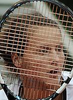 BOGOTA - COLOMBIA - FEBRERO 18: Tatjana Malek de Alemania, se prepara para servir, durante partido por la Copa Claro-Colsanitas en Bogotá, febrero 18 de 2013. (Foto: VizzorImage / Luis Ramírez / Staff). Tatjana Malek from Germany, prepares to server during a match for the Claro-Closanitas Tennis Cup, on February 18, 2013, in Bogota, Colombia. (Photo: VizzorImage / Luis Ramirez / Staff)...