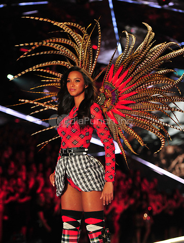 NEW YORK, NY - NOVEMBER 08: Lais Ribeiro at the 2018 Victoria's Secret Fashion Show at Pier 94 on November 8, 2018 in New York City. Credit: John Palmer/MediaPunch