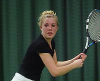10-3-06, Netherlands, tennis, Rotterdam, National indoor junior tennis championchips, Kim van der Horst