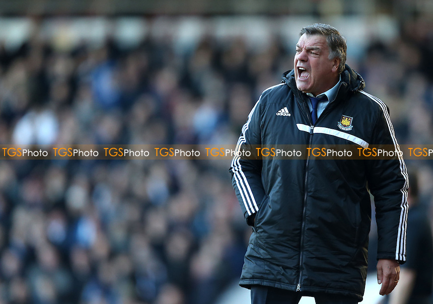 West Ham manager Sam Allardyce - West Ham United vs West Bromwich Albion, Barclays Premier League at Upton Park, West Ham - 28/12/13 - MANDATORY CREDIT: Rob Newell/TGSPHOTO - Self billing applies where appropriate - 0845 094 6026 - contact@tgsphoto.co.uk - NO UNPAID USE