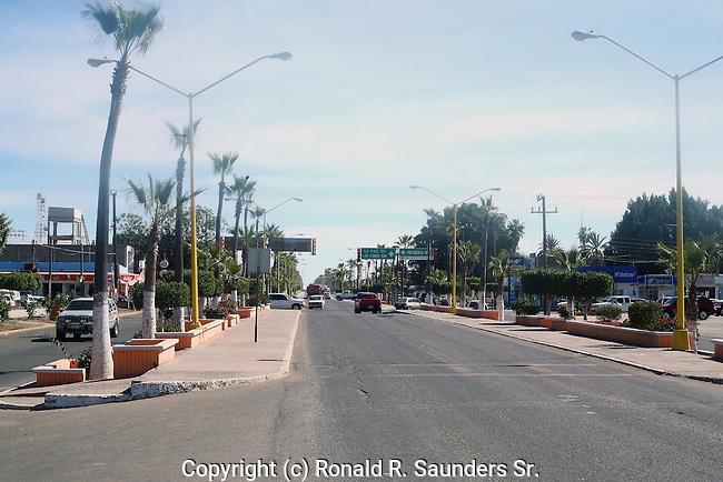 Ciudad Constitución is a small sleepy town in the Mexican state of Baja California Sur.<br /> Highway 1, onto Cabo San Lucas