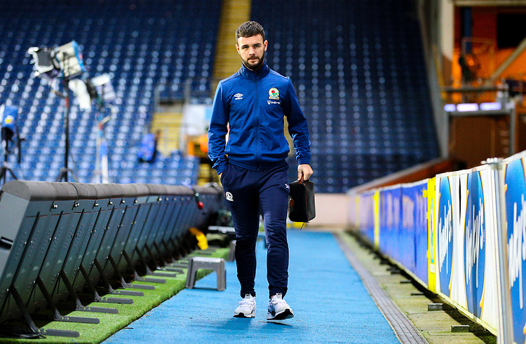 Blackburn Rovers' Adam Armstrong arrives at Ewood Park<br /> <br /> Photographer Alex Dodd/CameraSport<br /> <br /> Emirates FA Cup Third Round Replay - Blackburn Rovers v Newcastle United - Tuesday 15th January 2019 - Ewood Park - Blackburn<br />  <br /> World Copyright © 2019 CameraSport. All rights reserved. 43 Linden Ave. Countesthorpe. Leicester. England. LE8 5PG - Tel: +44 (0) 116 277 4147 - admin@camerasport.com - www.camerasport.com