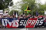 Supporters PSG Supras - 03.05.2008 - Toulouse / PSG - 36e journee Ligue 1.Photo : Cleva / Icon Sport