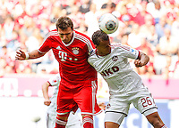 Football: Germany, 1. Bundesliga, FC Nuernberg - Timothy Chandler