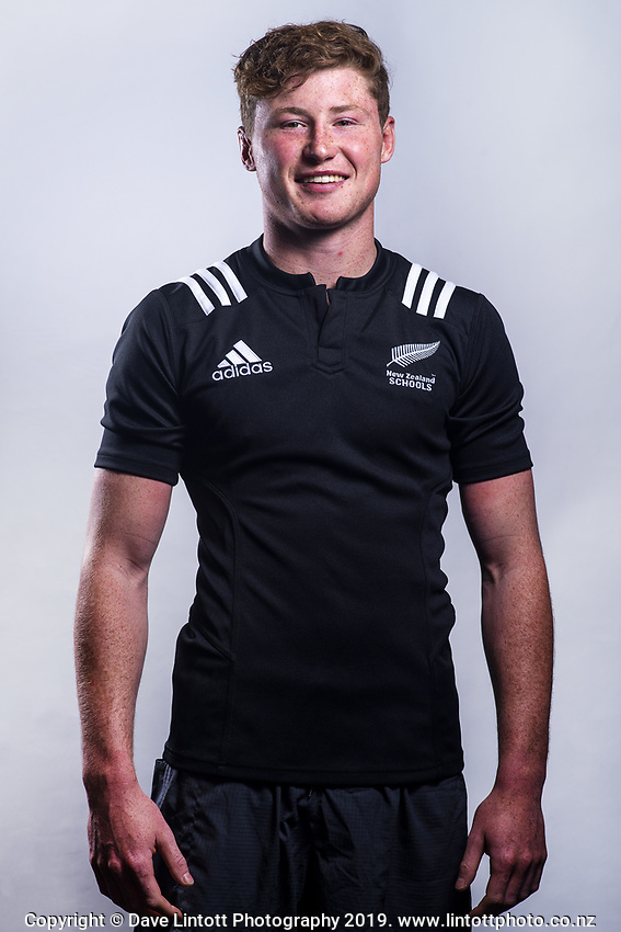 Cam Church (Saint Kentigern College). 2019 New Zealand Schools rugby union headshots at the Sport & Rugby Institute in Palmerston North, New Zealand on Wednesday, 25 September 2019. Photo: Dave Lintott / lintottphoto.co.nz