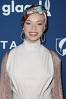 13 April 2018 - Beverly Hills, California - Blair Imani. 29th Annual GLAAD Media Awards at The Beverly Hilton Hotel. <br /> CAP/ADM/FS<br /> &copy;FS/ADM/Capital Pictures