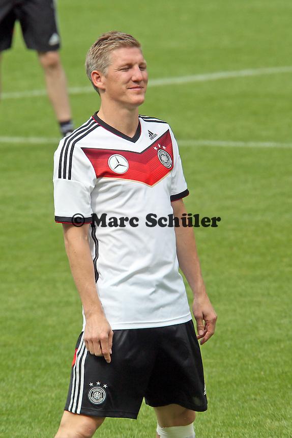 Bastian Schweinsteiger - Training der Deutschen Nationalmannschaft im Rahmen der WM-Vorbereitung in St. Martin