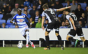 30th September 2017, Madejski Stadium, Reading, England; EFL Championship football, Reading versus Norwich City; Modou Barrow of Reading brings the ball forward through the Norwich City defence