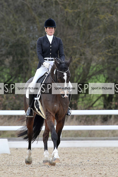 Class 6. Elementary 59. Affiliated dressage. British dressage (BD). Brook Farm Training Centre. Essex. 17/02/2017. MANDATORY Credit Garry Bowden/Sportinpictures - NO UNAUTHORISED USE - 07837 394578