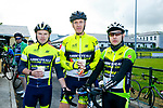 At the Emmett's Scenic Challenge Sportive Cycle in Listowel were Tony Stout, Noel Keane and Terrence Redican