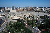 1996 June 26..Redevelopment..Macarthur Center.Downtown North (R-8)..FROM SCHOOL ADMIN BUILDING.LOOKING WEST...NEG#.NRHA#..