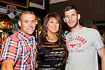 Richard Gibney, Jane Fullam and Gavin Brennan in the Pheasant.<br /> Picture: Shane Maguire / Newsfile.ie