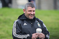 Wales coach Osian Roberts arrives for the Wales open Training session ahead of the opening FIFA World Cup 2018 Qualification match against Moldova at The Vale Resort, Cardiff, Wales on 31 August 2016. Photo by Mark  Hawkins / PRiME Media Images.