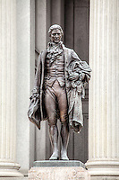Alexander Hamilton Statur US Treasury Department Washington DC