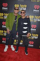 MIAMI, FL - NOVEMBER 05: Alexander Delgado and Randy Malcom Martinez of Gente de Zona attends iHeartRadio Fiesta Latina at American Airlines Arena on November 5, 2016 in Miami, Florida.Credit: MPI10 / MediaPunch