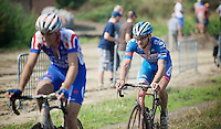 (later winner) Robin Stenuit (BEL-Wanty-Groupe Gobert) in action<br /> <br /> 90th Schaal Sels 2015