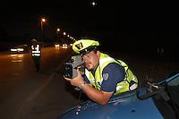 - highway patrol, Telelaser apparatus for speed control ....- polizia stradale, apparecchio Telelaser per il controllo della velocità