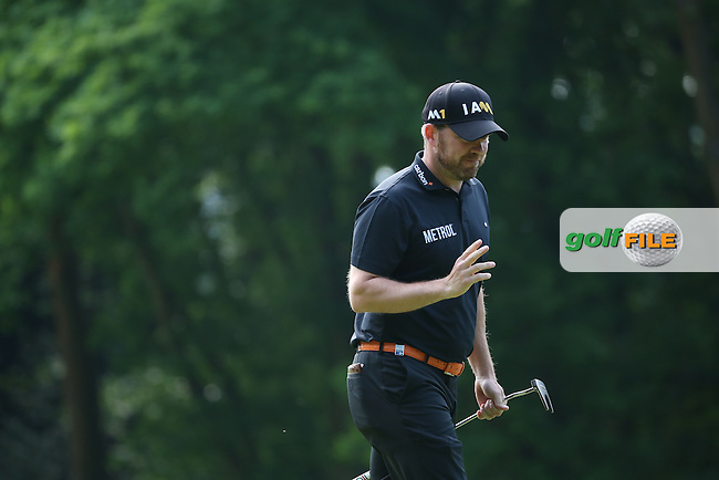 Richie Ramsay (SCO) during Round Two of the 2016 BMW PGA Championship over the West Course at Wentworth, Virginia Water, London. 27/05/2016. Picture: Golffile | David Lloyd. <br /> <br /> All photo usage must display a mandatory copyright credit to &copy; Golffile | David Lloyd.