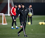 Alan Knill Assistant manager of Sheffield Utd  during the Press Conference & Training at the Steelphalt Academy, Sheffield. Picture date: 7th February 2020. Picture credit should read: Simon Bellis/Sportimage