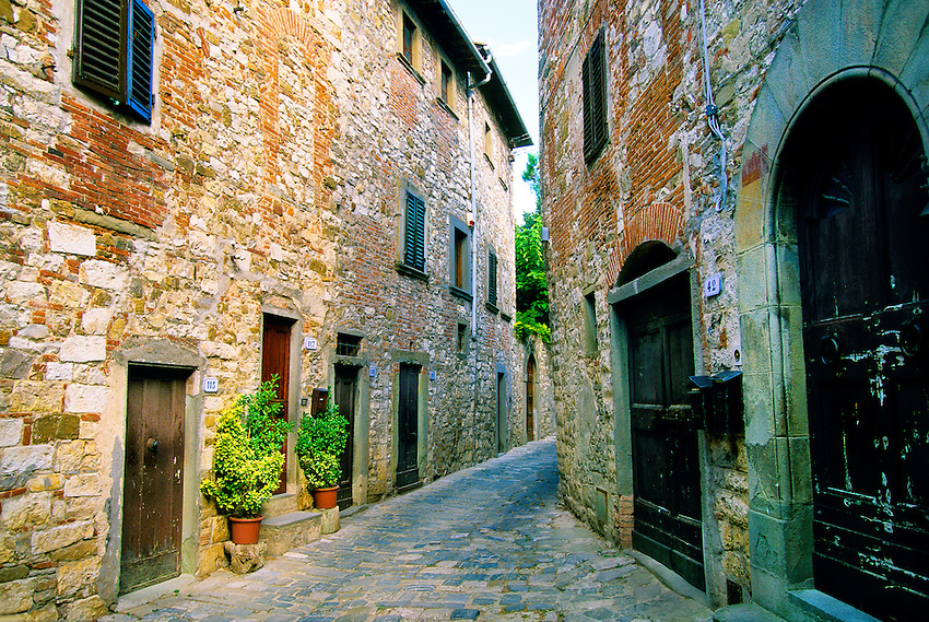 Montefioralle, Chianti, Tuscany, Italy