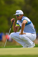 Rafael Cabrera Bello (ESP) lines up putt on 12 during round 4 of the 2019 PGA Championship, Bethpage Black Golf Course, New York, New York,  USA. 5/19/2019.<br /> Picture: Golffile | Ken Murray<br /> <br /> <br /> All photo usage must carry mandatory copyright credit (© Golffile | Ken Murray)