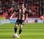 George Baldock of Sheffield Utd during the championship match at the Bramall Lane Stadium, Sheffield. Picture date 14th April 2018. Picture credit should read: Simon Bellis/Sportimage